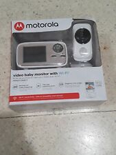 "NEW Motorola Video Baby Monitor Wi-Fi 2.8"" Screen 2 Way Audio Phone Compatible"