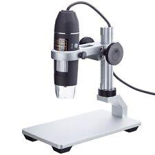 Amscope 10x 200x 2mp 8 Led Zoom Usb Digital Microscope For Windows Amp Mac