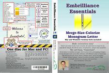 Embrilliance Essentials Embroidery Software .Bx Size Monogram Digital Download