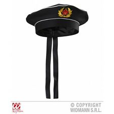 RUSSIAN SAILOR HAT Accessory for Russia Red Army Soviet USSR Moscow Fancy Dress