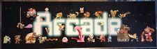 "Arcade Space Multicade/Mame Arcade Marquee 26""x8"""