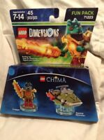 LEGO DIMENSIONS Movie Fun Pack 71223 Chima Cragger Swamp Skimmer (45 pcs) Jund