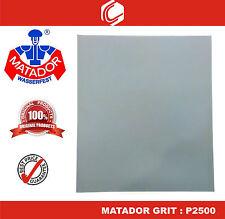 Matador Waterproof Sander Paper Grit : P2500