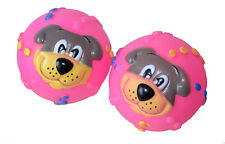 2x Squeaky Balls Dog Toy Play Ball Beißspielzeug Ball Motivball New