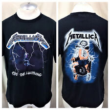 "Vintage 1994 Metallica ""Ride The Lightning"" (Large) Retro Graphic Band T-Shirt"