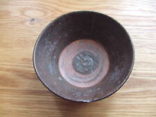 CHINA.  SUNG DYNASTY.  12th/13th CENTURY    BROWN GLAZED POTTERY TEA BOWL,