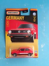 Matchbox VW Golf best of