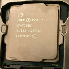 Intel Core I7-7700K, 4.2 GHz, 4 Cores 8 Threads Processor (Used)