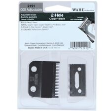 Wahl 000 Adjustable 2-Hole Clipper Blade Magic Clip Senior Icon S. Taper #2191