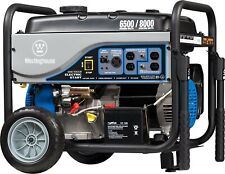 Westinghouse Wh6500E Portable Generator 6500 WattsGas Powered Electric Start