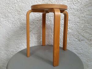 Tabouret E60 Alvar Aalto - Années 1970 - Artek - stool chair design vintage