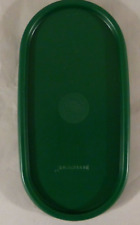 Tupperware Modular Mates Oval seal Replacement Lid # 1616 Hunter Green New