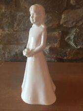 "Coalport Bone China Figurine MOMENTS ""Bridesmaid"" with Posy, with Box"