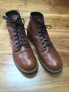 """Red Wing 9016 Beckman 6"""" Round Toe Cigar Featherstone Boots Size UK - UK 9"""