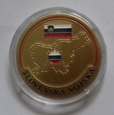Modern Challenge Coin Medal Medallion Slovenian Armed Froces