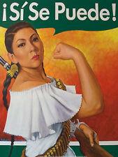 ART PRINT Rosita (Si Se Puede) Robert Valadez 18x24 Rosie Poster Latin American