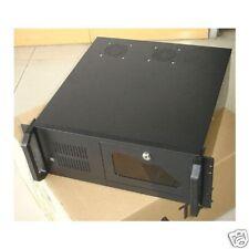 BRAND NEW BLACK 4U RACKMOUNT SERVER CASE & 550W PSU CCTV NVR DVR LOCKBOX USB 2.0