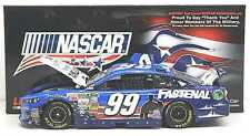 2013 CARL EDWARDS FASTENAL HIRE our HEROES AMERICAN SALUTE 1/24 NASCAR DIECAST