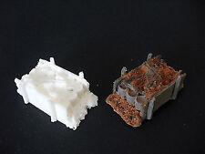 Diorama  2 Stück Barrikaden / Stellungsbau 1:72 (13) **NEU**