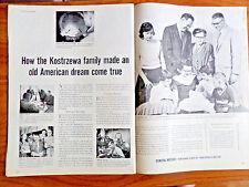1957 GM General Motors Story Ad the Kostrzewa Family B&K Tool Die Saginaw MI
