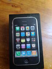 Apple iPhone 3G - 8GB - Black (AT&T) A1241 iOS 3