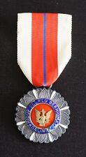 Malaysia Malaya SARAWAK Distinguished Service Medal Order Badge Silver P.P.B.