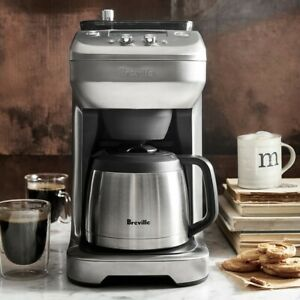 Breville BDC650BSS The Grind Control Coffee Maker - Silver