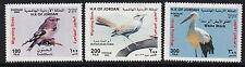 BIRDS :2002 JORDAN Birds set+ M/Sheet  SG2031-3+MS2034 never-hinged mint