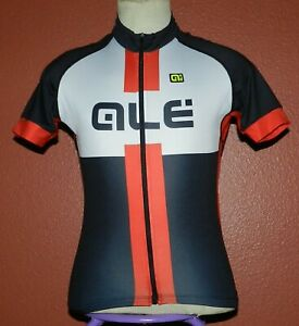 Ale Italy Bike Cycling Jersey Men's Cycling Sport Size Medium/Large Red Black