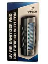 Gideon Mini Plug-in Air Ionizer Purifier UV Air Sanitizer With Fan
