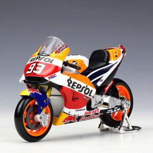 Maisto 1:18 Honda Repsol #93 Marc Marquez #26 Dani Pedrosa Motorcycle GP Model