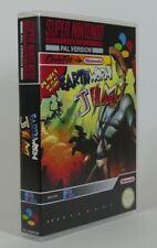Super Nintendo Snes - Game Case - Earthworm Jim (Pal)