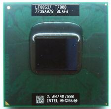 Intel Core 2 Duo T7800 2.6 GHz 4M Dual-Core CPU Processor SLAF6