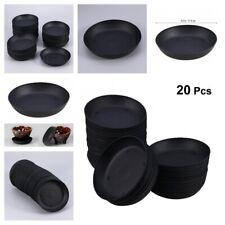 Plant Saucer Drip Trays Portable Round Plastic Flower Pot Base Garden Supplies