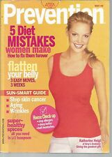 Prevention May 2006 5 Diet Mistakes/Flatten Your Belly/Healthy Spices/Sun-Smart