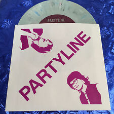 "PARTYLINE Bad For The Baby 7"" 45 Bratmobile Sex Stains Bikini Kill Riot Grrrl DC"