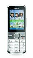 Nokia  C5-00 - silber-wei�� 5MP frei für alle Sim-Karten Neu