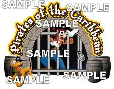 Disney Magic Kingdom Pirates of the Caribbean Jail Scrapbook Embellishment Piece