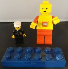 Lego Bundle Legoman Torch, Pen And Pencil Case