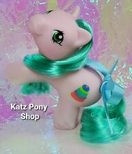 HQG1C Custom G1 MLP Style Playful Baby Pony 💜 TIPPER 💜 w Accessories! PINK