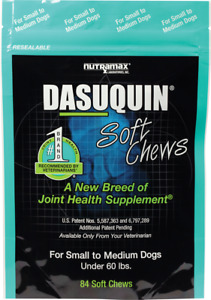 Nutramax Dasuquin 84 Soft Chews for SM/MED Dogs Joint Health