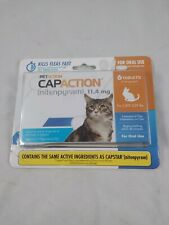 Capaction Oral Flea Killing Treatment For Cats and Kittens -6ct Tablets