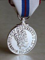 Canada Canadian Queen Elizabeth II Silver Jubilee Full Size Medal 1952- 1977