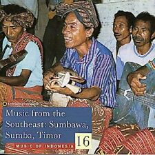 Music From The Southeast-Sumba - Music Of Indonesia (1998, CD NEU)