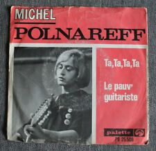 Michel Polnareff, ta ta ta ta / le pauv guitariste, SP - 45 tours Holland