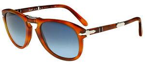 Persol STEVE MCQUEEN LIMITED PO 0714SM TERRA DI SIENA/BLUE 54/21/140 Sunglasses