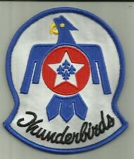 U.S.AIRFORCE THUNDERBIRDS PATCH USAF DEMONSTRATION SQ F-16 AEROBATICS PILOT FLY