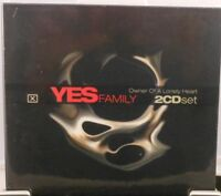 YES Family + 2 CD + Owner Of A Lonely Heart + Rick Wakeman u.a. + NEU + OVP +