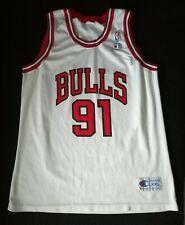 NBA Dennis Rodman #91 Chicago Bulls Jersey Champion  size 52 XXL
