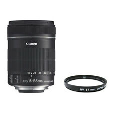 Canon EF-S 18-135mm 18-135 f/3.5-5.6 IS Lens Brand New + UV FILTER INCLUDED